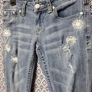 Grace Jeans - Grace Bootcut 26 jeans w/embroidery